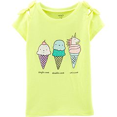 Girls 4-14 Carter's Ice Cream Cone Unicorn Graphic Tee