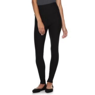 Juniors' Rewind High-Waisted Ponte Leggings