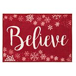 Natco Believe Snow Whirl Accent Rug - 20'' x 30''