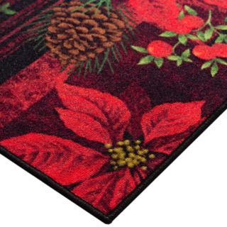 Natco Holiday Floral Texture Accent Rug - 20'' x 30''