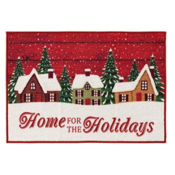 Natco Wintery Christmas Village Accent Rug - 20'' x 30''