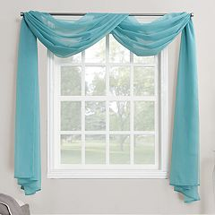 No 918 Emily Sheer Voile Curtain Scarf