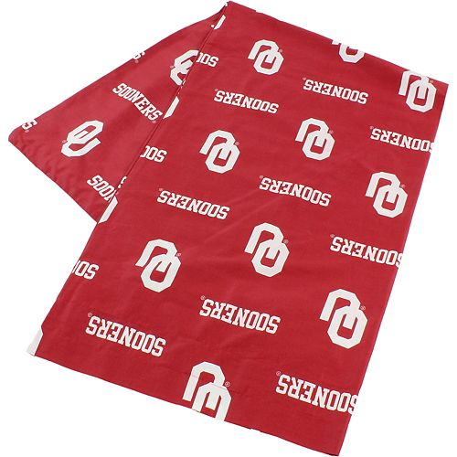 Oklahoma Sooners Body Pillowcase