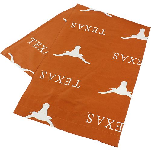 Texas Longhorns Body Pillowcase