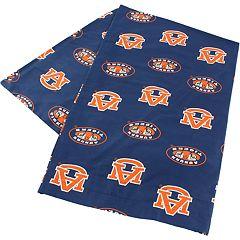 Auburn Tigers Body Pillowcase