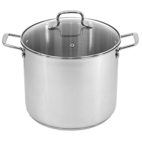 Oneida 12-qt. Stainless Steel Stock Pot