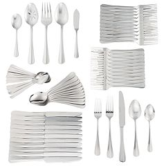 Food Network Mirror 65-Piece Flatware Set