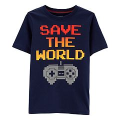 Boys 4-14 Carter's 'Save The World' Gamer Graphic Tee