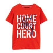 "Boys 4-14 Carter's ""Home Court Hero"" Basketball Graphic Tee"