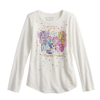 "Girls 4-10 Jumping Beans® My Little Pony ""Magical Friends"" Tee"