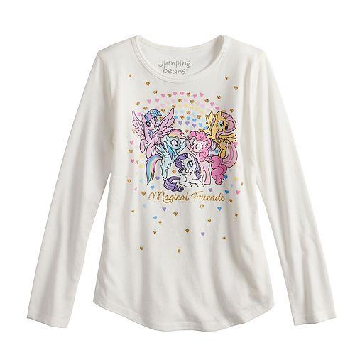 "Girls 4-10 Jumping Beans® My Little Pony ""Magical Friends"" Tee"