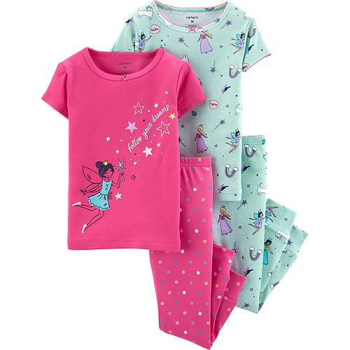 Toddler Girl Carter's Fairy Princess Tops & Bottoms Pajama Set