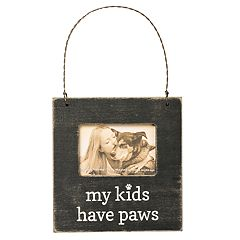 'My Kids Have Paws' 3' x 2' Frame Christmas Ornament