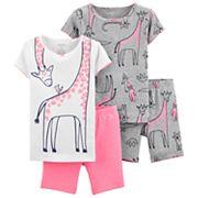 Toddler Girl Carter's Giraffe Tops & Bottoms Pajama Set