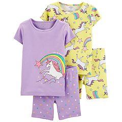 Baby Girl Carter's Unicorns & Rainbows Tops & Bottoms Pajama Set