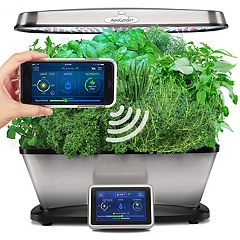 AeroGarden Bounty Elite Wi-Fi with Gourmet Herb Seed Pod Kit