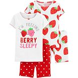 Baby Girl Carter's Strawberry Tops & Bottoms Pajama Set