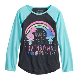 Girls 4-10 Jumping Beans® Dreamworks Trolls Poppy & Branch Long-Sleeve Graphic Tee