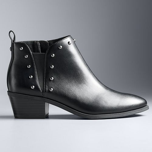 Simply Vera Vera Wang Scoter Women's Ankle Boots