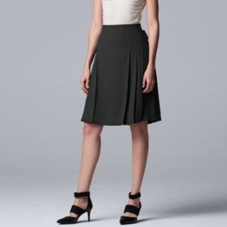 Women's Simply Vera Vera Wang Lace-Up A-Line Skirt