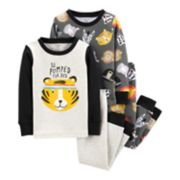 "Toddler Boy Carter's ""So Pumped For Bed"" Animals Tops & Bottoms Pajama Set"