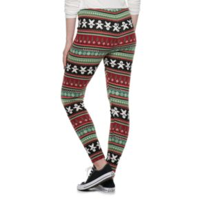Juniors' SO® Hatchi Holiday Leggings