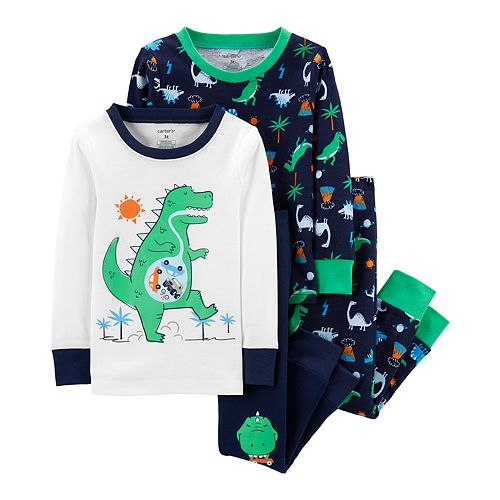 Toddler Boy Carter's Dinosaurs Tops & Bottoms Pajama Set
