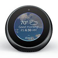 2 Amazon Echo Spot Smart Speaker + $45 Kohls Cash Deals