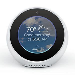 Amazon Echo Spot Smart Alarm Clock with Alexa