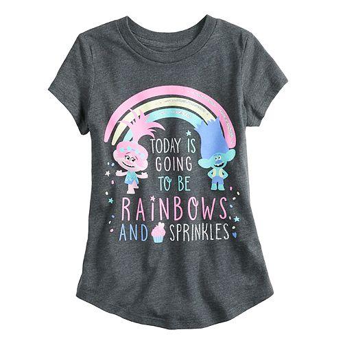 Girls 4-10 Jumping Beans® Dreamworks Trolls Poppy & Branch Short-Sleeve Graphic Tee