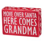 """Grandma"" Christmas Box Sign Art"