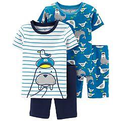 Toddler Boy Carter's Walrus Tops & Bottoms Pajama Set