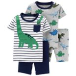 Toddler Boy Carter's Dinosaur Tops & Bottoms Pajama Set