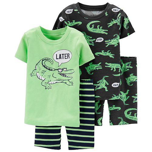 Toddler Boy Carter's Alligator Tops & Bottoms Pajama Set