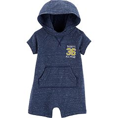 Baby Boy Carter's 'Daddy's 36 All-Star' Hooded Romper