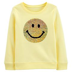 Girls 4-14 OshKosh B'gosh® Crewneck Flip Sequins Top