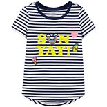 Girls 4-14 OshKosh B'gosh® Curved Hem Striped Tee