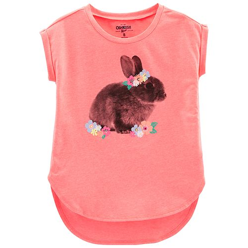 Girls' 4-14 OshKosh B'gosh® Bunny Graphic Tunic
