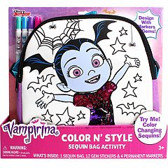 Disney's Vampirina Color N' Style Sequins Purse