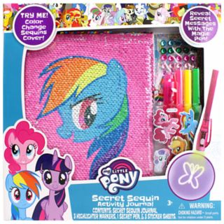 My Little Pony Secret Sequins Journal