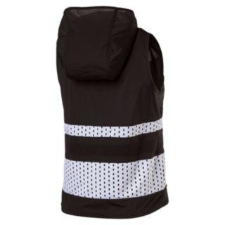 Women's PUMA Varsity Cover Up Sleeveless Hoodie