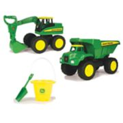 John Deere Big Scoop Dump Truck & Excavator Set