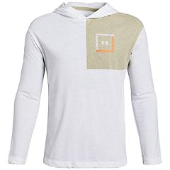 Boys 8-20 Under Armour Sportstyle Hoodie Tee
