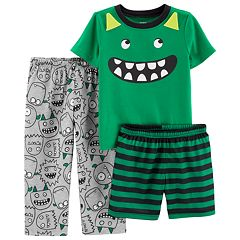 Toddler Boy Carter's Monster Top & Bottoms Pajama Set
