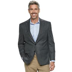 Men's Chaps Classic-Fit Patterned Stretch Sport Coat