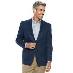 Men's Chaps Classic-Fit Patterned Stretch Sport Coat