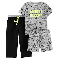 Baby Boy Carter's 'Mighty Sleepy' Dinosaur Top & Bottoms Pajama Set