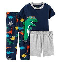Baby Boy Carter's Dinosaur Tops, Shorts & Pants Pajama Set
