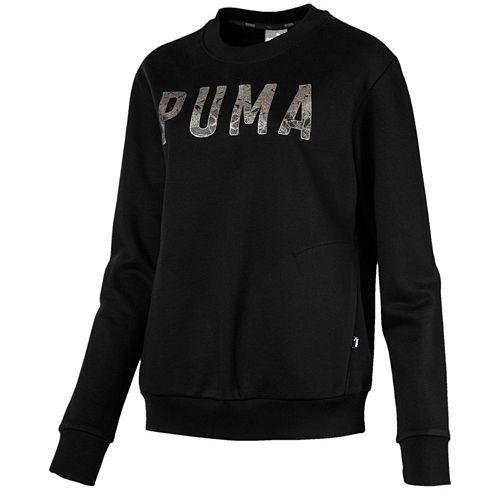 Women's PUMA Athletic Crew Sweatshirt