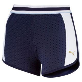 Women's PUMA Varsity High-Waisted Shorts
